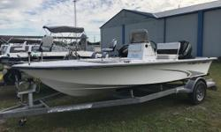 One Owner, purchased at Nobles' Marine. Brand New Radio and Speakers installed. Nominal Length: 17.7' Length Overall: 17.7' Engine(s): Fuel Type: Other Engine Type: Outboard Beam: 7 ft. 5 in. Fuel tank capacity: 15 Stock number: FL4433MS
