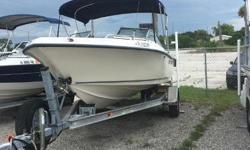 Located in Ft Pierce come on by and see the 04 Key West 186 DC powered by a Mercury 150HP. Very well taken care of boat for the money. This Key West 186DC has the maximum power with a 150 HP Mercury Saltwater engine, Look throughout the boat and see