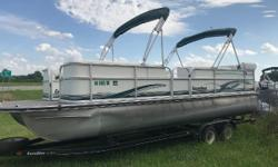 2004 Landau DX24 Cruise $15995 Ready for the weekend!!! This boat has a Mercury 115ELPT EFI 4- Stroke, double bimini top, ski tow bar, hydraulic steering system with tilt wheel, cover, trailer and spare tire. Call The Boat House (Ponca City,OK) for