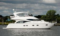 If you are in the market for an absolutely Turn Key Marquis 59 Motor Yacht Don't Miss this great example of a lovingly cared for, fully loaded yacht. The owner have purchased their New larger yacht and are nowoffering GRATEFUL for sale. Extensive
