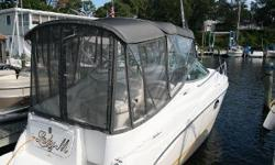 NEW LISTING! Very clean and ready to go! Bought as a holdover in the fall of 2005, wasn't splashed until the spring of 2006. On some cruisers, the captain sits alone at the helm, an island unto himself, while the rest of the passengers mingle in the