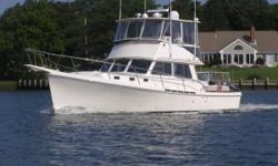 Rare Opportunity Extensive Maintenance Records  Full Services & Bottom Paint done Spring of 2016 Satellite TV     NAUSET MARINE HAS BEEN BUILDING CUSTOM YACHTS FOR OVER 40 YEARS. Each Nauset is built as a custom yacht to the specific