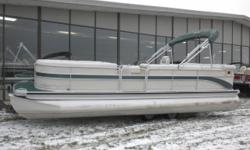 2004 Premier Grand Majestic 230 Pontoon & 60HP Yamaha 4-Stroke Outboard. Motor Runs Great! This Premier Pontoon Features, Front Lounge/Bench Seating With Movable Center Filler Seat, Movable Ottoman Cooler, Rear Wrap Around Bench Seating With Additional