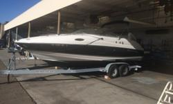 This 2004 Regal 2450 cuddy is loaded with all the right options! 8.1 Volvo GXi motor, extended swim platform, head with pump out, cockpit sink on a galvanized tandem axle trailer.CANVAS BIMINI TOP DECK SKI TOW SPOTLIGHT WALK-THROUGH WINDSHIELD ELECTRICAL