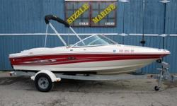 2004 Sea Ray 180 Sport Mercruiser 3.0L, 135 hp *** Cockpit & Bow Covers *** Bimini Top *** AM/FM/CD Stereo *** Tilt Wheel*** Adjustable Captains Chair *** Infloor Ski/Wakeboard Storage Area *** Back to Back Passenger Seats / Convertible Sun Lounger