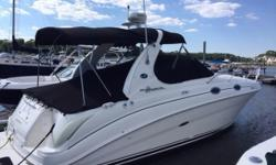 Searay 280 Da,  Excellent Excellent condition with low hours.  Twin 4.3 V6, windlass, vac flush, camper canvas with new glass, mooring cover, 2 interiors, Raymarine radar with GPS. Alpha ones outdrives.     On the hard with a bath and