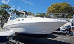 2004 Sea Ray 320 Sundancer, Marine Connection: South Florida's #1 Boat Dealer! Cobia, Hurricane, Sailfish Pathfinder, Sportsman, Bulls Bay, Rinker & Sweetwater new boats plus the largest selection of pre-owned boats. View full details and 1 photo of this