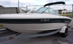 2004 Sea Ray bowrider with full cover and depthfinder.