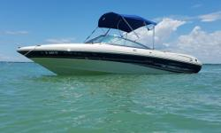 2004 Sea Ray 200 Sport Condition - Used Year - 2004 Use - Fresh Water Make - Sea Ray Model - 200 Sport Engine Type - Single IO Engine Make - MerCruiser Engine Type - Bow Rider Engine Model - 5.0L Alpha I Length (ft) - 21 Primary Fuel Type - Gasoline
