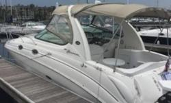 2004 Sea Ray 280 Sundancer Take a look for yourself and see why the Sea Ray boats are the best selling boat on the market today. This boat has it all wrapped-up in 28 feet. The 4.3 Liter MerCruiser Twin V6 motors sip Fuel while giving you a Cruise Speed