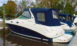 USED BOAT Engine(s): Fuel Type: Gas Engine Type: Stern Drive - I/O Quantity: 2 Beam: 9 ft. 5 in.