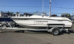 REDUCED PRICE 2004 Seaswirl 1851 Striper Great All around package!!! This amazing Seaswirl 1851 Striper is equipped with a swim ladder and grab handle, 2 back jump seats, 2 passenger cup holders, 2 pedestal seats, side rod holders, oceanus VHF radio,