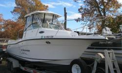 NEW INVENTORY 2004 Sea Swirl 2601WA This Sea Swirl Striper 26 WA is in very good shape w/ a Yamaha 4 stroke OB & a Trailer w/ lots of equipment! This boat comes w: Yamaha 225 TXR OB 4 stroke Aluminum Bunk Trailer w/ Ladder & Spare Tire GPS/FF/DF VHF