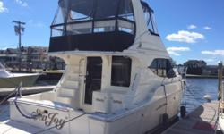 """This is a beautiful example of the forever popular Silverton 34. The current meticulous owners have """"Sea Joy IV"""" in fantastic condition inside and out! A real jem awaits. Nominal Length: 34' Length Overall: 34' Drive Up: 3.3' Engine(s): Fuel Type:"""