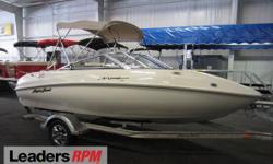 2004 Sugar Sand 1800 Mirage CLEAN 2004 SUGAR SAND 1800 MIRAGE WITH ONLY 117 ENGINE HOURS!   A 200 hp Mercury Optimax V6 Sport Jet direct fuel injected engine powers this affordable jet boat.  Features include:  mooring cover, removable