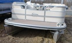 This boat will provide many hours of enjoyable cruising on your favorite lake. The 40hp Yamaha has power to pull children on tubes., Beam: 8 ft. 0 in. Boat cover; Bimini top;
