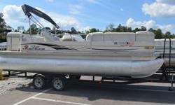 2004 SunTracker Party Barge 22 Come check this Pontoon out today! Mercrusier 3.0L engine New Motor! 1 year warranty Hin: BUJ18790I304