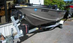 2004 Tracker Boats Guide V 14 Tracker Guide V14 with Mercury 25hp 4 Stroke EFI 2004 Tracker with 25hp 4stroke EFI Mercury outboard. Includes galvanized trailer. Minnekota trolling motor. Hull color: Tan