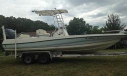 2004 Triton 220 LTS Length 22FT Yamaha 250 four stroke 412 hrs (2007) engine 6 hyd. Jack plate 8 power pole Minn Kota trolling motor Garmin GPS/sonar Ray marine sonar JVC stereo Four 6 Two 10 subs Sat. Radio also New tires in 2016 New hubs in 2015 Unit is