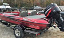 USED 2004 TRITON TR186 THIS IS A NICE USED TRITON THAT NEEDS A NEW ENGINE. THE ENGINE HAS A HOLE IN THE CRANKCASE. IT WOULD NEED A NEW POWERHEAD OR REPLACE THE ENGINE. SELLING ON CONSIGNMENT FOR CUSTOMER. HAS ALMOST NEW MAXX 70 TROLLING MOTOR. DRIVER AND