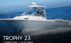"""Actual Location: Carpintera, CA - Stock #099271 - Ready, Set, Fish!! This Pro 2350 WA Is Ready For You To Step Aboard!!From our friends at Boattest.com""""The 2352 WA is a sterndrive powered fishboat with many standard features, good seating room for"""
