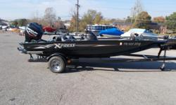 2004 Xpress X18 bass boat with Mercury 150 Optimax. Boat has been used very little and in excellent condition. Lowrance fish finder, 24 volt motorguide trolling motor, on board charger, brand new custom mooring cover, jack plate. Boat absolutely ready for