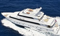 Description Complete 2010 REFIT: Exterior flybridge added with sunpads seating and dinning table. FULL Exterior Paint Job: Alwcraft paint job and bottom job. Complete interior decor refurbishing including new carpet through-out vessel along with all