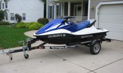 2005 F12X Honda Turbo - 3 seater. Purchased new in April 2006. Well cared for. Only 39 hours. Bboat is like new allways stored indoors best riding ski on the water. Trailer included. Category: Personal Watercraft Water Capacity: 0 gal Type: PWC Holding