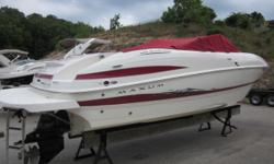 Stock ID: 103840Specs Length Overall (LOA): 24' Features and OptionsBimini top, cockpit and bow cover, 5.7 with alpha drive stereo, 380 hrs. Category: Powerboats Water Capacity: 0 gal Type: Runabout Holding Tank Details:  Manufacturer: Maxum-U.S. Marine