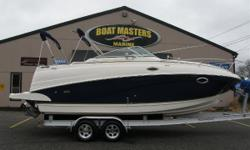 2005 Rinker Fiesta Vee 250 Top-of-the-line features. Outstanding value. Strong power choices. It is amazing to see how many great ideas can be stuffed into a 27 01 boat. From parties on deck to comfortable sleeping accommodations for four, the Fiesta Vee