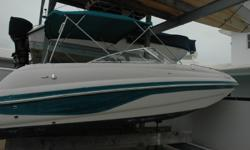 Nice day cruiser also equipped for fishing. Ample seating with bimini top and porta-potti. Take a look at ALL ***41 PICTURES*** OF THIS VESSEL ON OUR MAIN SITE AT POPYACHTS DOT COM. At POP Yachts International we will always provide you with a TRUE