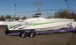 2005 Baia 250 Outlaw 2005 Baja 250 Outlaw Sport Performance boat with Merc 496MAG HO B1 W/DTS, 415 HP. Cockpit Cover, Sport Tabs, Battery Switch, Tubular Platform, Stainless Steel Prop, Lavorsi Controls, Gaffrig Gauges. Cleanest Outlaw Around. Don't miss
