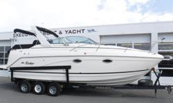 MerCruiser 496 MAG closed-cooled engine, aprx 396 hours Bravo III dual-prop sterndrive w/stainless props Metal Craft 3-axle trailer w/surge brakes, side guides, custom rims, spare tire & aluminum step plates (3) Batteries w/switch Battery charger