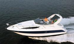 2005 Bayliner 305 The beautiful 305 has everything that makes cruising fun - on a grand scale. And while its size and versatile seating arrangements mean it's big enough to host quite a gathering, the ergonomic control panel and a power-assisted, tilt