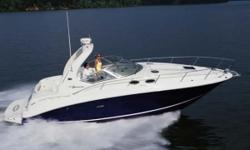 Description Sea Ray has been setting the standards for express cruisers for over 20 years so its hardly a surprise that this 320 Sundancer delivers just the right blend of style comfort and performance. It's brightly lit interior is completely open with