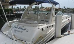 Description 2005 34' Sea Ray Sundancer -- Blue Hull Shines Like New & Vessel is in Great Condition Inside & Out! UPGRADED 370HP 8.1L Mercruiser Horizon Engines w/ Low Hours! *****Hull Recently Waxed & Fully Detailed -- Boat is Shining like NEW! Come See