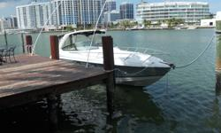 This boat has twin mercury 496 mag ho motors in it. She flys. She has garmin and raymarine electronics. Sleeps four. Has cover and bottom paint. Please submit any and ALL offers - your offer may be accepted! Submit your offer today! We encourage all