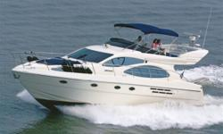 2005 46' Azimut Evolution MYLoaded with Options & Upgrades Including: Twin CAT 510HP C9's, Bow + Stern Thrusters, 'Yacht Controller' Wireless Docking, Full Raymarine Electronics Package + Much More!Very Rare Vessel to find in the United States, she Will