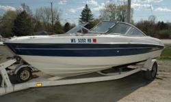 NEW Winter Price ONLY $11,795! Get ready to be impressed!! This Bayliner is in excellent condition and ready to take you and your guests on fun filled cruises all summer long!! The power plant is a 4.3 Mercruiser I/O that will deliver plenty of power for