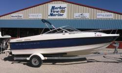 Harbor View Marine offers you this beautiful 2005 Bayliner 210 Cuddy Cabin. Powered by a Mercruiser 5.0L motor 220HP and comes complete with a Karavan trailer.The versatile 210 packs the interior spaciousness and features of typical 23' models!