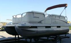 2005 Bennington 168 cruise pontoon with a Mercury 25 HP four stroke motor. Sold new here in 2005 and just traded in on a larger Bennington. Great smaller cruise pontoon! No trailer with the boat but we have trailer's available if needed. - 16' cruise