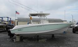 Clean, lower hours and NO bottom paint. 2005 32 Boston Whaler Outrage with under 900 hours. Nominal Length: 32' Max Draft: 1.8' Engine(s): Fuel Type: Other Engine Type: Outboard Draft: 1 ft. 10 in. Beam: 10 ft. 2 in. Fuel tank capacity: 300