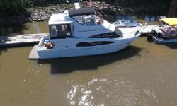 2005 Carver Yachts 41 Cockpit Motor Yacht Purchased New 41 Cockpit Motor Yacht Non Smokers Rear entry sliding door Aft master state room All fresh water boat hours 210 Twin 8.1 Crusaders &.5 Kohler Generator hours 150 Plenty of seating Wet bar &