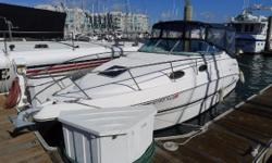 The Chaparral 260 Signature is a high quality express cruiser that makes a great first boat. This one is in good condition, and comes with a Volvo gas engine with low hours.  Nominal Length: 26' Length Overall: 28' Max Draft: 2.8' Engine(s):