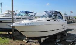 Very clean and well taken care of. Why buy new when you can save a ton of cash on this gem! Nominal Length: 27' Max Draft: 2.8' Drive Up: 1.4' Engine(s): Fuel Type: Other Engine Type: Inboard Draft: 2 ft. 9 in. Beam: 8 ft. 6 in. Fuel tank capacity: 80