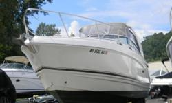 The 270 Signature is a very versatile family cruiser with its stylish looks and quality construction. This boat affords you the opportunity to just go cruising comfortably or to overnight or weekend out on the water. This boat is powered by the twin 4.3