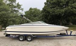 Great Family Boat! Engine(s): Fuel Type: Gas Engine Type: Stern Drive - I/O Quantity: 1 Beam: 9 ft. 0 in.