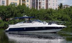 This Cranchi Endurance offers the rare opportunity to own the essence of European style and comfort combined with American desire. The current owner has spared no expense to insure she is fully and properly equipped. You have to see this boat, it is