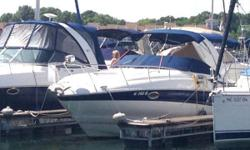 Extra Clean Freshwater Crownline!!!  Loaded with AC/Heat, Windlass, Volvo 5.7 GXi 325 Horsepower V-8 and Duo Prop Outdrive...  Smart Features like her Convertible Rear Facing Sun Lounge and Integrated cockpit Cooler Cabinet set her apart from
