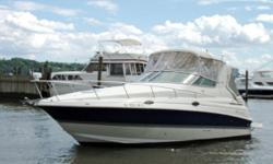 Lcation - Englewood, N. J.  The Cruisers 280 CXI is a full-featured cruiser with style, luxurious accommodations, and performance. She features a large open cockpit with ample seating and a mid-cabin interior with two double berths. Whether you are